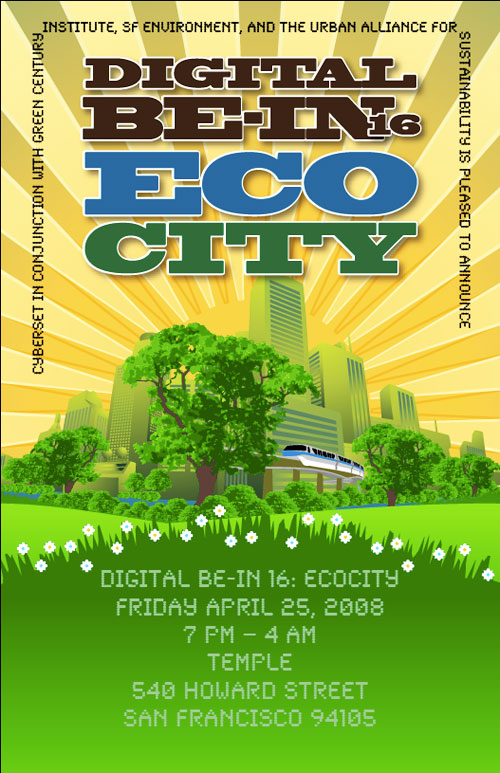 Digital Be-In 16: ECOCITY